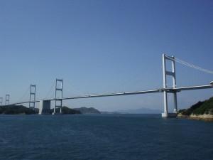 しまなみ海道の吊り橋